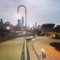 Photo taken at 18th Street Bridge by Greg H. on 11/1/2013