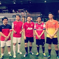 Photo taken at The Hattrick Football Club by Taphatson L. on 9/14/2013