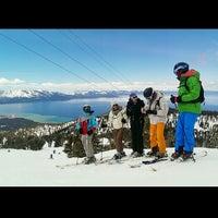Photo taken at Lake Tahoe, NV by Maxence D. on 4/6/2014