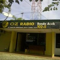 Photo taken at OZ Radio 102.8 FM Banda Aceh by dididunk d. on 10/6/2012