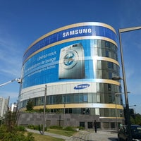 Photo taken at Samsung Electronics France by Joris Q. on 8/8/2013
