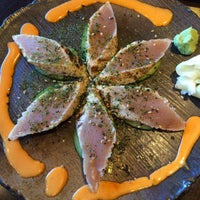 Photo taken at Sushi Mura by Mina on 9/27/2015