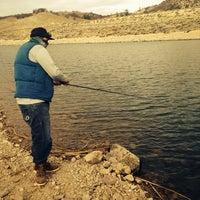 Photo taken at Quail Lake by Aaron G. on 1/26/2014