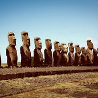 Photo taken at Easter Island by Mitchell S. on 9/6/2013