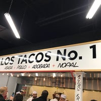Photo taken at Los Tacos No. 1 by Toby C. on 11/7/2017