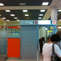 Photo taken at Passport Control (E) by Aisa D. on 8/11/2013