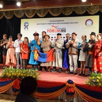 Photo taken at The 252 Hotel, Phnom Penh by Batsaikhan K. on 6/2/2013