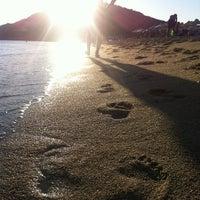 Photo taken at Agios Prokopios Beach by Игорь З. on 7/29/2013