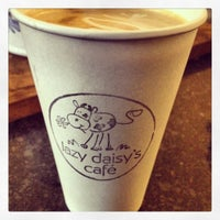 Photo taken at Lazy Daisy's Cafe by Salima V. on 12/30/2012