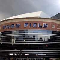 Photo taken at Ford Field by Rachel H. on 7/18/2013