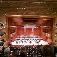 Photo taken at David Geffen Hall by Susan F. on 12/19/2012