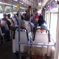 Photo taken at Трамвай № 1 by Anna G. on 6/9/2013