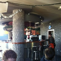 Photo taken at Caffe Bar Aqua by Igor S. on 12/29/2012