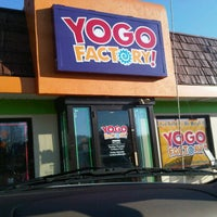 Photo taken at Yogo Factory by Craig R. on 11/5/2012