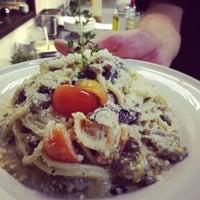Снимок сделан в Any.pasta.pizza.bar пользователем Dasha K. 11/23/2012