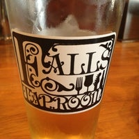Photo taken at Falls Taproom by Ajua H. on 4/19/2013