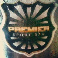 Photo taken at Premier Sport Bar by Diego S. on 2/3/2013