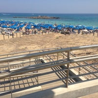 Photo taken at Fig Tree Bay by Petr D. on 8/16/2013