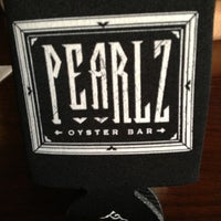 Photo taken at Pearlz Oyster Bar by Brad D. on 5/20/2013