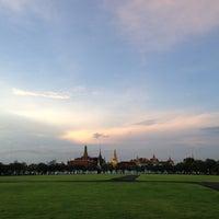 Photo taken at Sanam Luang by Pat R. on 11/17/2012