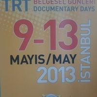 Photo taken at TRT Belgesel Ödülleri by Yusuf Girayalp A. on 5/9/2013