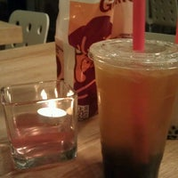 Photo taken at O Pass Tea & Crepe by Jaspreet B. on 2/14/2013