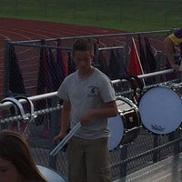 Photo taken at Troy-Buchanan High School by Sarah Y. on 8/23/2014