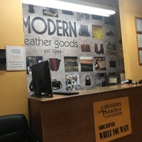 Photo taken at Modern Leather Goods & Repair by Albert C. on 11/8/2017