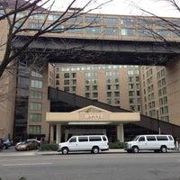 Photo taken at Hyatt Regency Washington on Capitol Hill by Albert C. on 12/16/2012