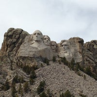 Photo taken at Mount Rushmore National Memorial by ǝʌǝʇs  ʞ. on 4/29/2013