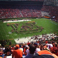 Photo taken at Pat Dye Field at Jordan-Hare Stadium by Colleen H. on 10/7/2012