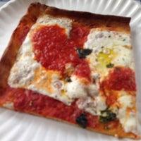 Photo taken at Lenny's Pizza by Irene V. on 2/27/2014