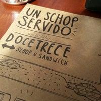 Photo taken at DoceTrece Schop & Sandwich by Carlos R. on 8/31/2013