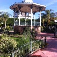 Photo taken at Jardin Principal by Beto C. on 12/22/2012