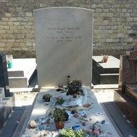 Photo taken at Montparnasse Cemetery by Bernard S. on 4/29/2013