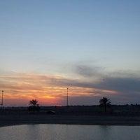 Photo taken at King Khaled Lagoon by Rizwan I. on 11/29/2013