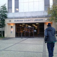 Photo taken at Durham County Library by LaMont'e B. on 11/8/2013