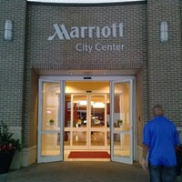 Photo taken at Raleigh Marriott City Center by LaMont'e B. on 8/31/2013