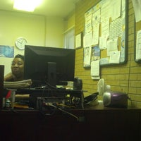 Photo taken at Oldham Towers by LaMont'e B. on 4/18/2013