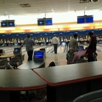 Photo taken at Buffaloe Lanes Cary Bowling Center by LaMont'e B. on 12/23/2012