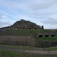 Photo taken at Fort Sint Pieter by M K. on 2/28/2017