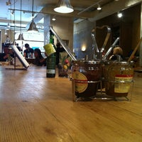 Photo taken at Le Pain Quotidien by Massimiliano P. on 10/7/2012