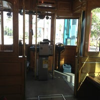 Photo taken at TECO Line Streetcar - Dick Greco Transportation Center by Angel M. on 8/11/2013