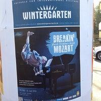Photo taken at Kiosk am Weichselplatz by Sam M. on 3/9/2014