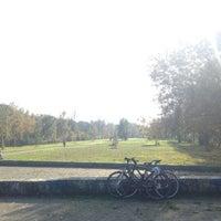 Photo taken at Hans-Baluschek-Park by Judith on 10/15/2017