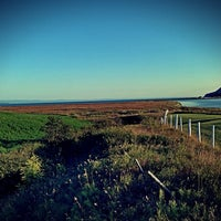 Photo taken at Baie-Saint-Paul by Judith on 8/29/2014
