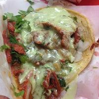 Photo taken at Tacos El Gordo De Tijuana by Chef L. on 11/26/2012