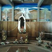 Photo taken at Santuario Santa Teresita de los Andes by Andrea R. on 10/10/2012