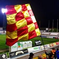 Photo taken at Stadio Velodromo Rino Mercante by Giulio B. on 4/15/2017