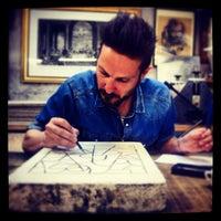 Photo taken at Stamperia Arte Busato by Giulio B. on 6/25/2013
